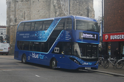 1244, HF68DXM, Bluestar, Bargates, Southampton