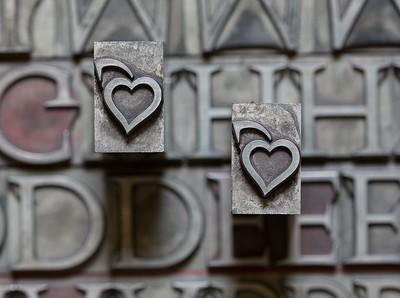 Lapidary typefaces - Caratteri lapidari
