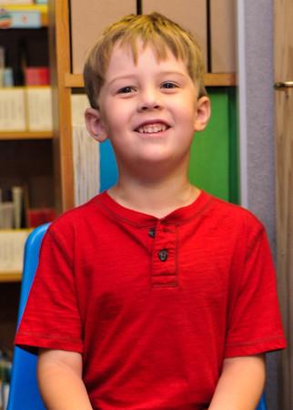 Keaton's 1st day of Kindergarten