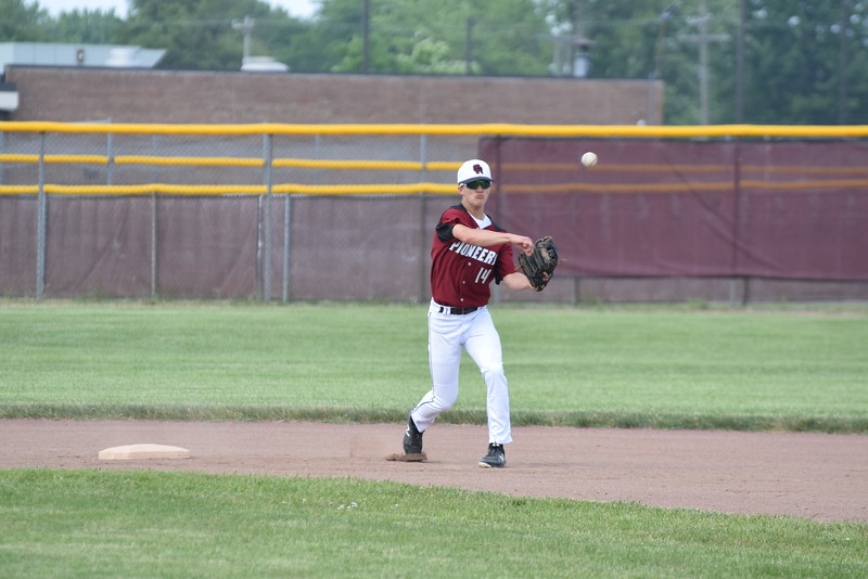 Riverview Gabriel Richard defeated Michigan Center by a score of 10-2 on Tuesday in a Division 3 state quarterfinal.  With the win, the Pioneers advanced to the state semifinals. Photo by Anna Lisa Fedor