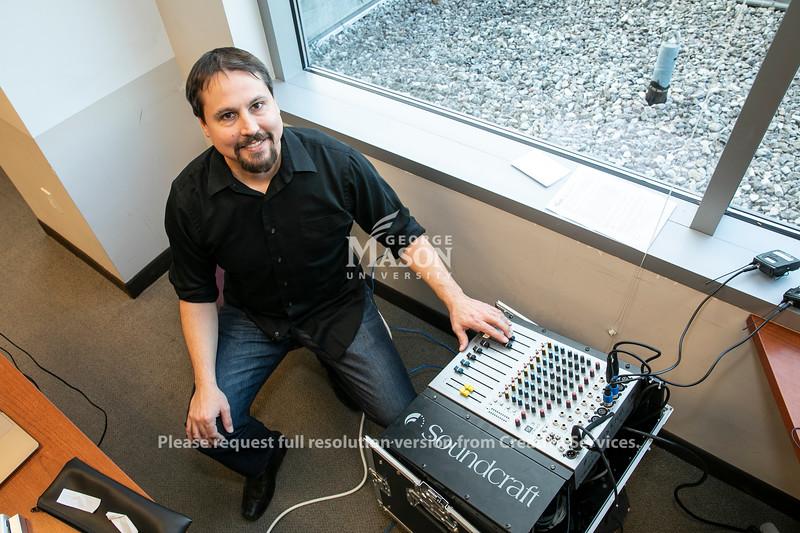 Paul Snodgrass, Scar.  Photo by:  Ron Aira/Creative Services/George Mason University