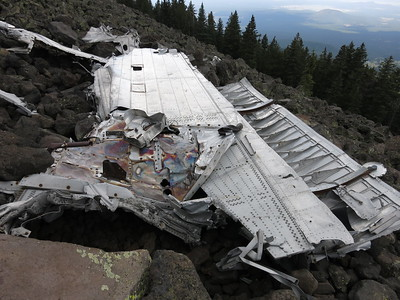Humphreys B24 Bomber Crash Site - July 28, 2018