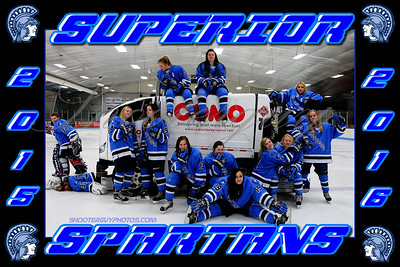 SHS Girls Hockey 2015/2016