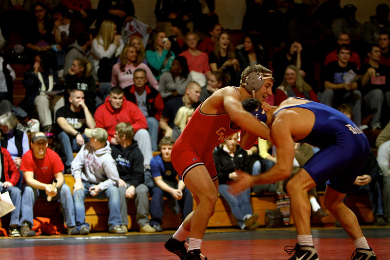 Wrestling match versus Duke; January 21, 2011.