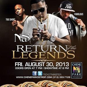 Return of the Legends - Nas, 2 Short, Fabolous