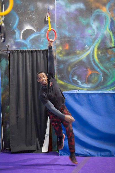ALA Najee Ninja Warrior