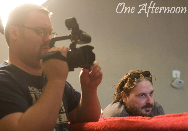 """Filming of """"One Afternoon"""""""
