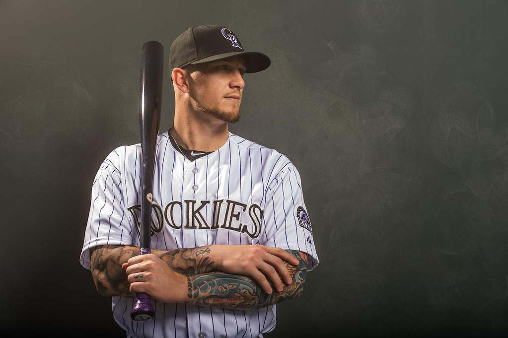 . 1 Brandon Barnes Position: OF Height: 6-2 Weight: 205 Bats/throws: Right/right Expectations: He�s a good fielder who�s comfortable anywhere in the outfield. To get significant playing time, he must increase his .289 on-base percentage. He�s basically a fourth outfielder. 2014 salary: $501,000 (Photo by Rob Tringali/Getty Images)