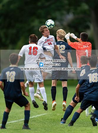 9/10/2019 - Boys Varsity Soccer - Walpole vs Needham