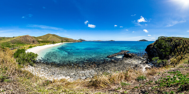 Walking around Paradise Beach - Yasawa - Fiji Islands