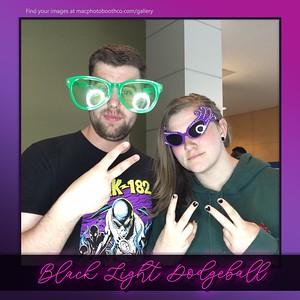 Gateway College Black Light Dodge Ball April 2019
