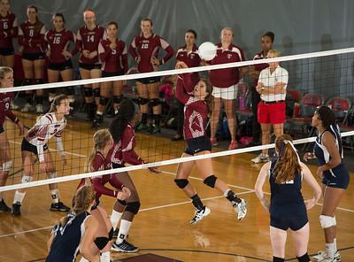 9/19/15: Varsity Volleyball v Andover