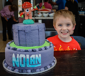 Nolans Fourth Birthday