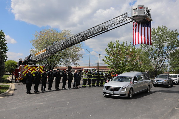 Justice Police Department Funeral Service For Police Officer Peter G. Lenos Badge # 215 EOW 04/29/2021 ( Funeral )