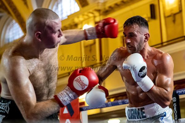 Luke Caci vs Craig Nicholson
