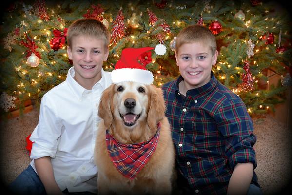 Boys & Abby Christmas 2013