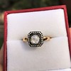 .53ctw Rose Cut Halo Ring, by Single Stone 37
