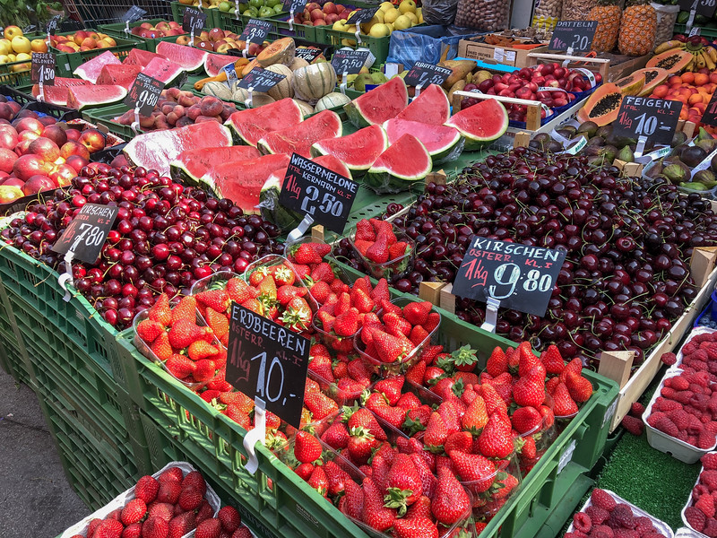 Farmers market in Vienna