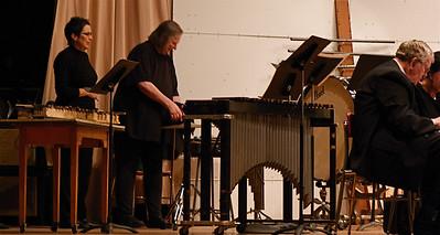 2011 11 21: Carla, Community Band, Woodland M.S.