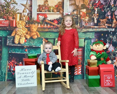 Michaela & Nicholas Christmas 2020