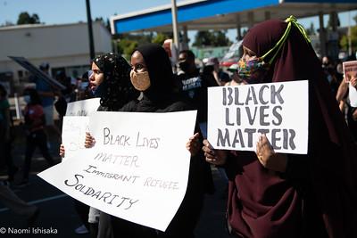 Black Lives Matter: Black/Immigrants/Refugees Solidarity Rally