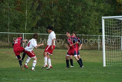 Boys JV Soccer 10-8-07 vs St. Mary's