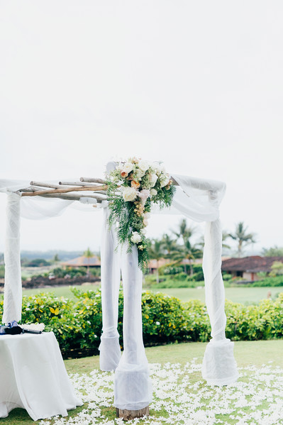 Michael and Kimberly // Hualalai Wedding