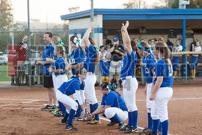 Girls Varsity Softball - 2014