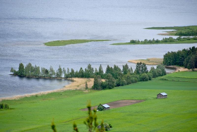 Avholmsberget, Dellensjöarna