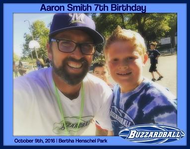 OCTOBER 9TH, 2016 | Aaron Smith 7th Birthday