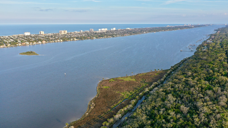 Halifax River Daytona Beach upper right