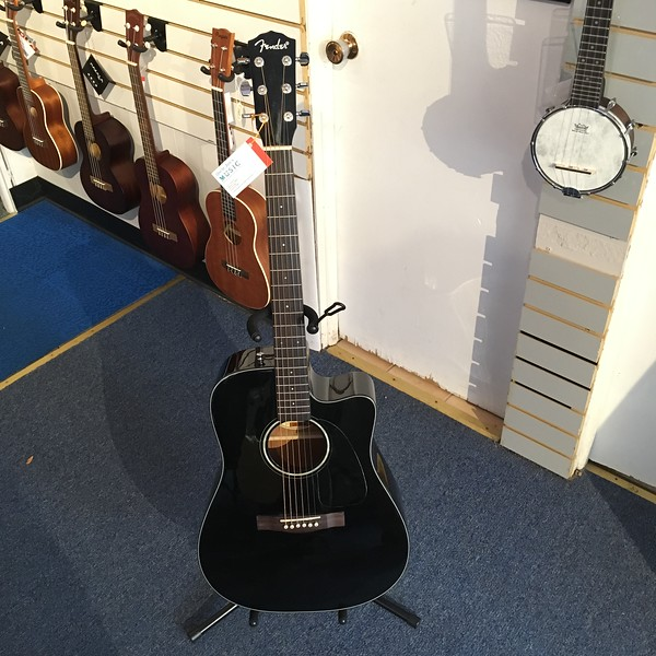 Fender Acoustic-Electric CD140SCE, Black
