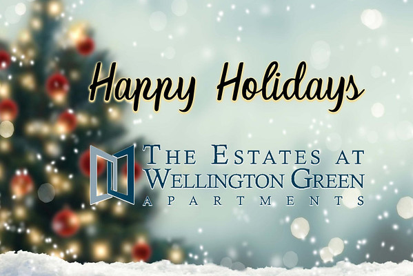 The Estates at Wellington Green Apartments Holiday Event