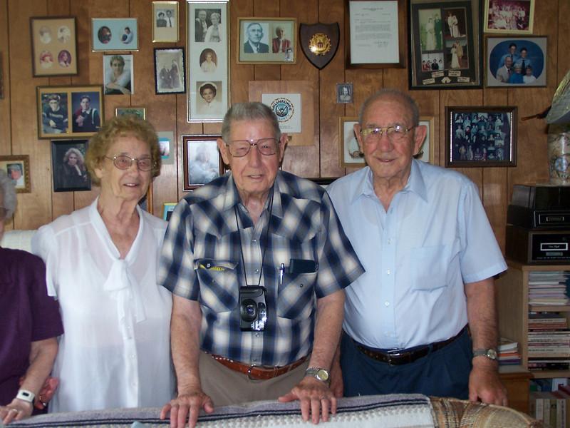 Amelia, Ray and Frank