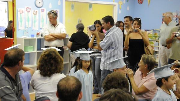 Melissa Graduates from Pre-School