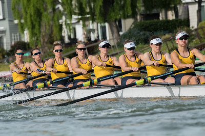 Cal Women's Rowing at the PAC-12 Challenge, 2018