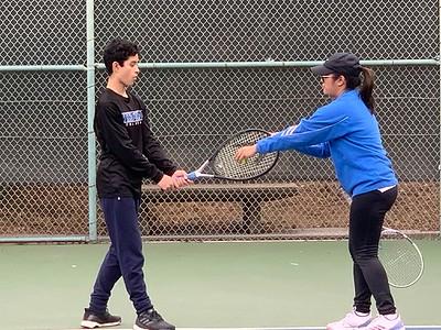 2019.12.01 Zachary - Stephanie Uy tennis lesson
