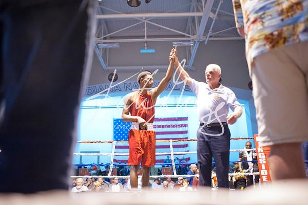 13 Rico Compton (5-Star Boxing) walk over