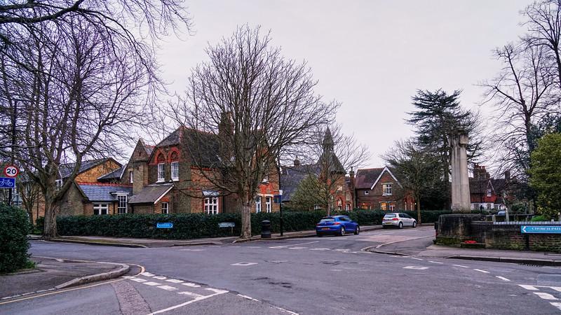 Church Lane Junction with Melrose Road - Merton Park