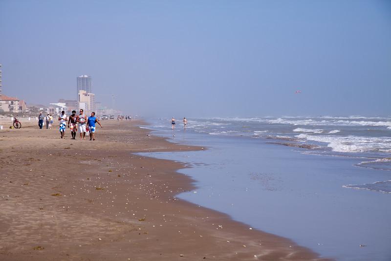 the beach @ S. Padre Isl.