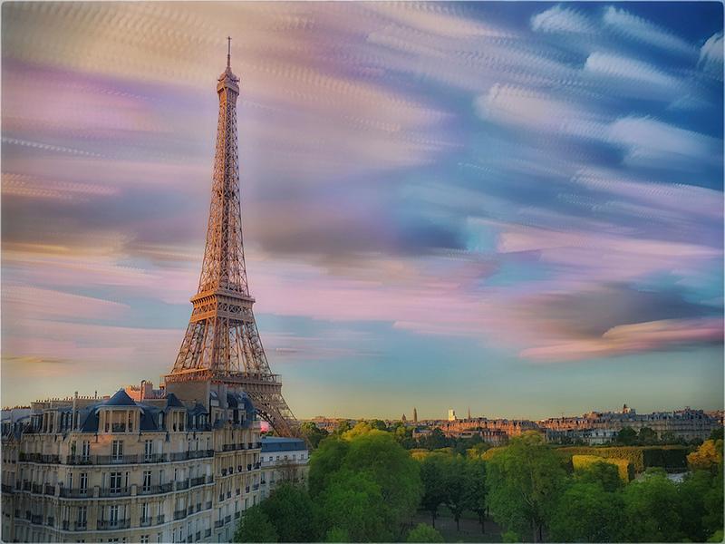 Paris Long Exposure