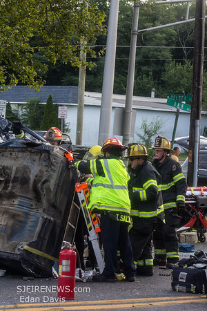 07/26/2019, Commercial MVC with Entrapment, Vineland City, Cumberland County NJ, Oak Rd, and N Delsea Dr.