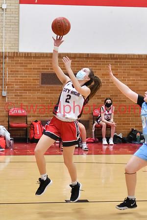 2021 CHS JV2 Girls Basketball - CR Jefferson