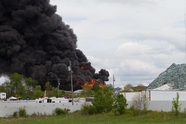 Lawrenceburg, KY Glass Fire