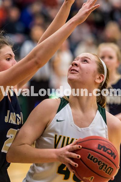 Girls Basketball: James Wood vs Loudoun Valley 2.19.2019 (by Michael Hylton)