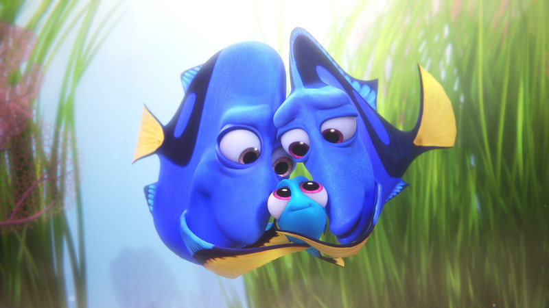 A-DORY-able clip shows FINDING DORY hero as a baby