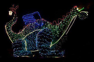 Lichtstoet en Sinterklaas 2010