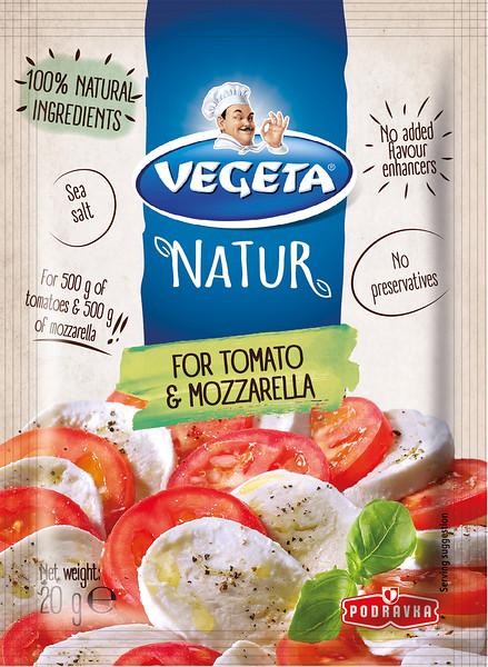 267999 PODRAVKA Vegeta Natur maitseaine mozzarellale 20g 3856020221249