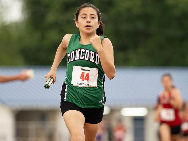 2021 Girls Track Regional at Goshen - 5/25/21