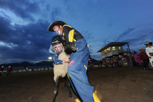 2012 Rooftop Rodeo Mutton Busting
